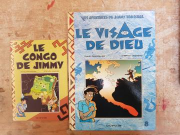 DESBERG - DESORGHER - LES AVENTURES DE JIMMY TOUSSEUL T8 - LE VISAGE DE DIEU - NEUF - EO SEPT 1995