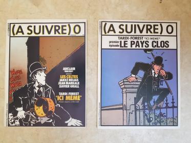 REVUE A SUIVRE TOME 0  - TBE - EO 1977