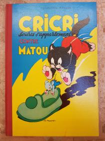 CALVO - CRICRI CONTRE MATOU - BE - EO JAN 1957