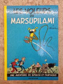 FRANQUIN - SPIROU & FANTASIO LES VOLEURS DU MARSUPILAMI - BE - RR 1968