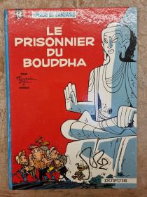 FRANQUIN - SPIROU & FANTASIO LE PRISONNIER DU BOUDDHA - BE - RR 1966