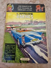 JIJE - VALHARDI L'AFFAIRE BARNES - (BE-) - EO JAN 1960