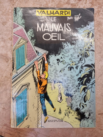 JIJE - VALHARDI LE MAUVAIS OEIL - (BE-) - EO JAN 1960