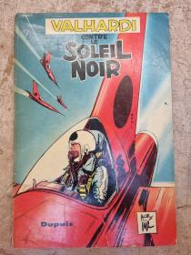 JIJE - VALHARDI CONTRE LE SOLEIL NOIR - (BE-) - EO JAN 1958