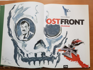LE HENANFF - OSTFRONT / WESTFRONT - TBE + DEDICACES - EO 2011-2012