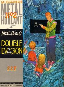MOEBIUS - DOUBLE EVASION - BE - EO MAI 1981