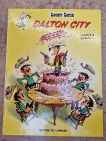 MORRIS - LUCKY LUKE DALTON CITY - BE - EO JAN 1969