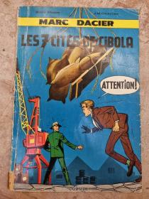 PAAPE - MARC DACIER LES 7 CITES DE CIBOLA - (BE-) - EO JAN 1963