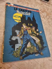 PAAPE - VALHARDI LE CHATEAU MAUDIT - (BE-) - EO JAN 1953