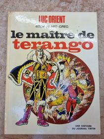 PAAPE - GREG - LUC ORIENT LE MAITRE DE TERANGO - (BE-) - EO JAN 1971
