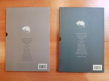 SCHUITEN - PEETERS - LA THEORIE DU GRAIN DE SABLE TOME 1&2 - TBE - PREMIERE EDITION
