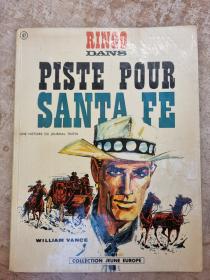 VANCE - RINGO DANS PISTE POUR SANTA FE - (BE-) - EO AVRIL 1967