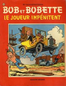 VANDERSTEEN - BOB & BOBETTE LE JOUEUR IMPENITENT - BE - EO AOUT 1972